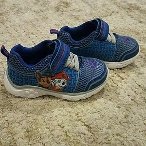 Paw Patrol from Target boys sneakers size 5